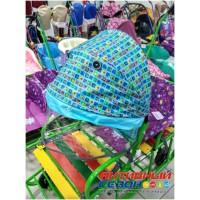Козырек-крыша для санок модели СДПР-ВК (голубой)