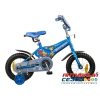 """Велосипед 12"""" Transformers (синий)"""
