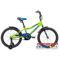 Детский велосипед Novatrack Cron 20  (Белый, Зеленый) Рама Алюминий