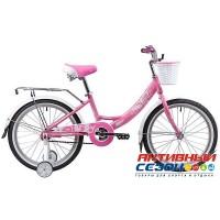 """Детский велосипед Novatrack GIRLISH Line 20""""  (Розовый)"""