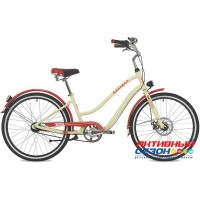 "Велосипед Stinger 26"" CRUISER ANSV LADY 16""; бежевый"