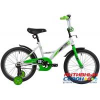 """Велосипед Novatrack Strike 18"""" (черный-красный; черный-зеленый; белый-зеленый)"""