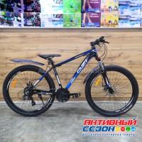 """Велосипед OZI (27"""", 21 скор.) (р-р: 17; Цвет: черно-синий) А2701D"""