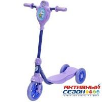 Самокат городской Foxx Baby с пластиковой платформой и EVA колесами 115мм (ультрамарин)