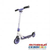 Самокат ТТ 145 jogger  (серо-черный, бело-фиолетовый, сине-бирюзовый, черно-оливковый)