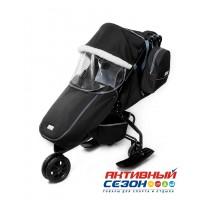 Санки-коляски Pikate Active (Черный)