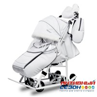 Санки-коляски Pikate Arctic (Белый)