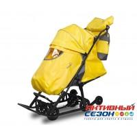 Санки-коляски Pikate Baby (Желтый)