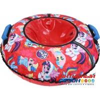 Тюбинг принтованный My little pony (ТБ2-90/LP) (диаметр чехла 950 мм) красный