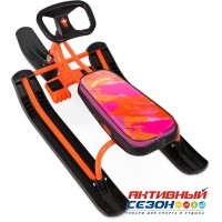 Снегокат «ТИМКА СПОРТ» высокий ТС1 Nika Kids colors (оранжевый каркас)