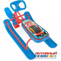 Снегокат «ТИМКА СПОРТ» высокий ТС1 Nika kids sportcar (красный каркас)