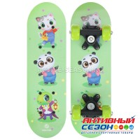 Скейтборд детский «Зверюшки» 44 × 14 см, колёса PVC 50 мм, пластиковая рама
