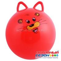 Мяч прыгун с ушками d=45 см, 380 г, МИКС