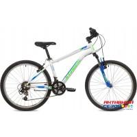 """Велосипед Stinger Caiman (24"""" 12 скор.) (Р-р= 12"""", Цвет: черный, белый) Рама сталь"""