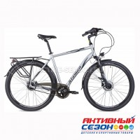 """Велосипед Stinger 700"""" Vancouver PRO (28"""" 8 скор) (р-р: 52, 56, 60; Цвет: серебристый) Рама Алюминий"""