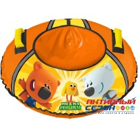 Тюбинг с рисунком «Ми-ми-мишки» (ТБ1-70/ММ) оранжевый