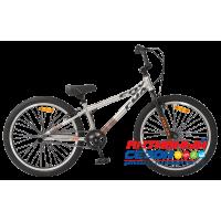 "Велосипед TechTeam Fox (24"", 1 скор.) (Р-р= 19.8"", Цвет: Серый) Рама сталь"