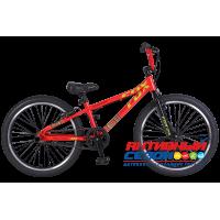 """Велосипед TechTeam Fox (24"""", 1 скор.) (Р-р= 20.3"""", Цвет: Желтый, Красный) Рама сталь"""