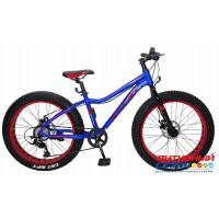 """Велосипед TechTeam Garet (20"""") (Р-р= 12"""", Цвет: Сине-красный, Черно-желтый) Рама алюминий"""