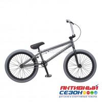 """Велосипед TechTeam Grasshopper (20"""", 1 скор.) (Р-р= 20.5"""", Цвет: оливковый, графит, красно-серый) Рама сталь"""