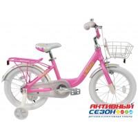 """Велосипед TechTeam Milena (20"""", 1 скор.) (Цвет: Желтый, Морская волна, Розовый) Рама алюминий"""