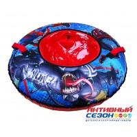 """Тюбинг  """"Человек паук"""" с круговым дизайном (диаметр чехла 1000 мм)"""