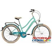 """Велосипед Stinger Verona (26"""" 3 скор.) (Р-р = 15""""; 17"""" Цвет: Зеленый) Рама Алюминий"""