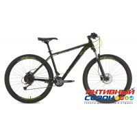 "Велосипед Stinger Genesis STD (2019) (29"" 18 скор.) (Р-р = 20""; Цвет: Черный) Рама Алюминий"