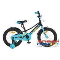 """Детский велосипед Novatrack Valiant 14"""" (Черный; Фуксия; Белый)"""