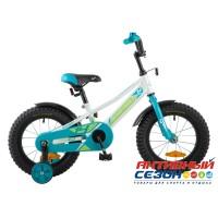 """Детский велосипед Novatrack Valiant 16"""" (Фуксия; Белый; Черный)"""
