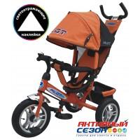 Трехколесный велосипед PILOT надувные колеса 12' и 10' (Оранжевый (PTA3O))