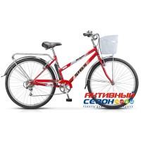 "Велосипед Navigator-250 Lady Z010 (26"" 7 скор.) (Р-р = 19""; Цвет: Коралловый)+Корзина Рама Сталь"