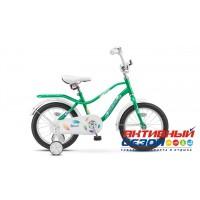 Детский велосипед Stels Wind 14 (Z010) (Синий; Зеленый) Рама Сталь