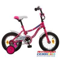 Детский велосипед Novatrack Neptune 12'' (Розовый)