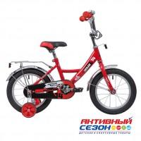 """Детский велосипед Novatrack Urban (14"""" 1скор.) (Красный; Белый; Синий; Черный)"""