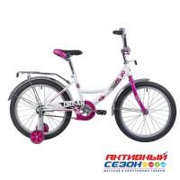 """Детский велосипед Novatrack Urban (20"""" 1 СКОР.) (Белый) Рама Сталь"""
