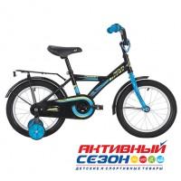 """Велосипед Novatrack Forest 16 (16"""", 1 скор.) (Цвет: черный) Рама Сталь"""