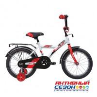 """Велосипед Novatrack Astra  (14"""" 1 скор) (Р-р=9, Цвет: Белый) Рама Сталь"""