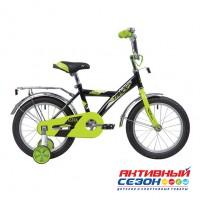 """Велосипед Novatrack Astra  (16"""" 1 скор) (Цвет: Черный) Рама Сталь"""