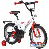 """Велосипед Novatrack Astra  (16"""" 1 скор) (Цвет: Белый) Рама Сталь"""
