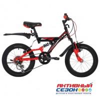 """Велосипед Novatrack Dart (16"""" 5 скор.) (Цвет: Черный) Рама Сталь"""