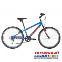"""Велосипед Mikado SPARK JR (24""""  6 скор.) (Р-р = 12"""" Цвет: синий) Рама Сталь"""
