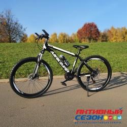 """Велосипед MAKINAR (26"""" 21 скор) (Цвет черный)  Рама Сталь"""