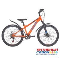 """Велосипед RUSH HOUR RX 415 DISC ST (24"""" 6 скор) (Р-р13"""", Цвет оранжевый)  Рама Сталь"""