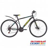 "Велосипед RUSH HOUR 7500 DISC ST (27,5"" 18 скор) (Р-р18"", Цвет черный)  Рама Сталь"
