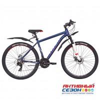 "Велосипед RUSH HOUR RX 725 DISC AL (27,5"" 21 скор) (Р-р18"", Цвет синий)  Рама Аллюминий"
