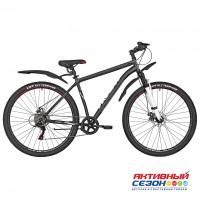 """Велосипед RUSH HOUR RX 905 DISC ST (29"""" 6 скор) (Р-р19"""", 21 Цвет черный, синий)  Рама Сталь"""