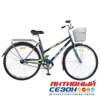 "Велосипед STELS Navigator 300 Lady (Z010) (28"" 1 скор.) (Цвет: Морская волна) Рама Сталь"