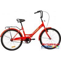 """Велосипед KROSTEK COMPACT 401 (24"""", 1 скор.) (Цвет: Красный)"""