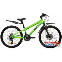 """Велосипед GTX DAKAR (24"""", 21 скор.) (Р-р= 11,5"""", Цвет: Зеленый, Черный)"""